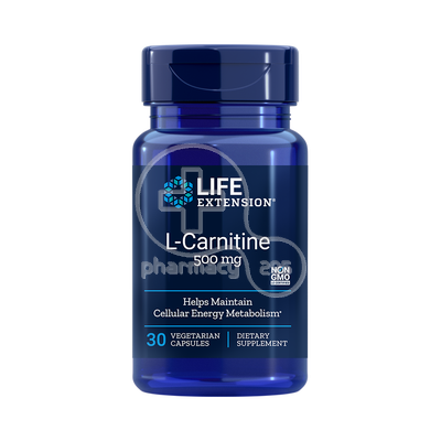 LIFE EXTENSION - L-Carnitine 500mg - 30caps