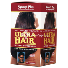 Nature's Plus ULTRA HAIR - Μαλλιά, 60tabs