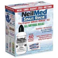 NEILMED SINUS RINSE ORIGINAL RINSE KIT 60SACKETS
