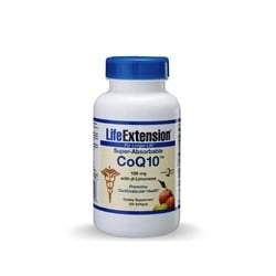 LifeExtension Super-Absorbable CoQ10 50mg 60 softgels