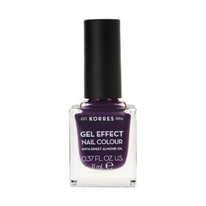 KORRES Gel effect nail colour N75 violet garden 11ml