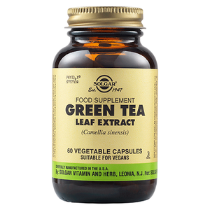 SOLGAR Green tea leaf extract 60veg. caps