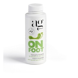 AgPharm On Foot Powder Πούδρα Ποδιών με Tea tree & Aloe Vera, 100ml