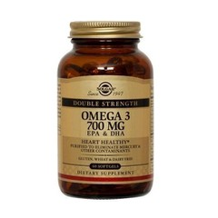 Solgar Omega 3 Double Strength 60 μαλακές κάψουλες