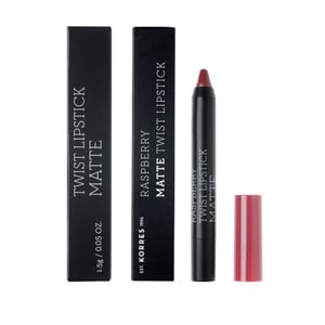 KORRES Lipstick twist raspberry matte addictive berry 1,5gr