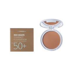 Korres Κόκκινο Σταφύλι Compact Foundation SPF50 Medium SunGlow 8gr