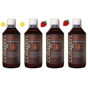 Collagen power pro active liquid collagen health   beauty 4x lemon strawberry