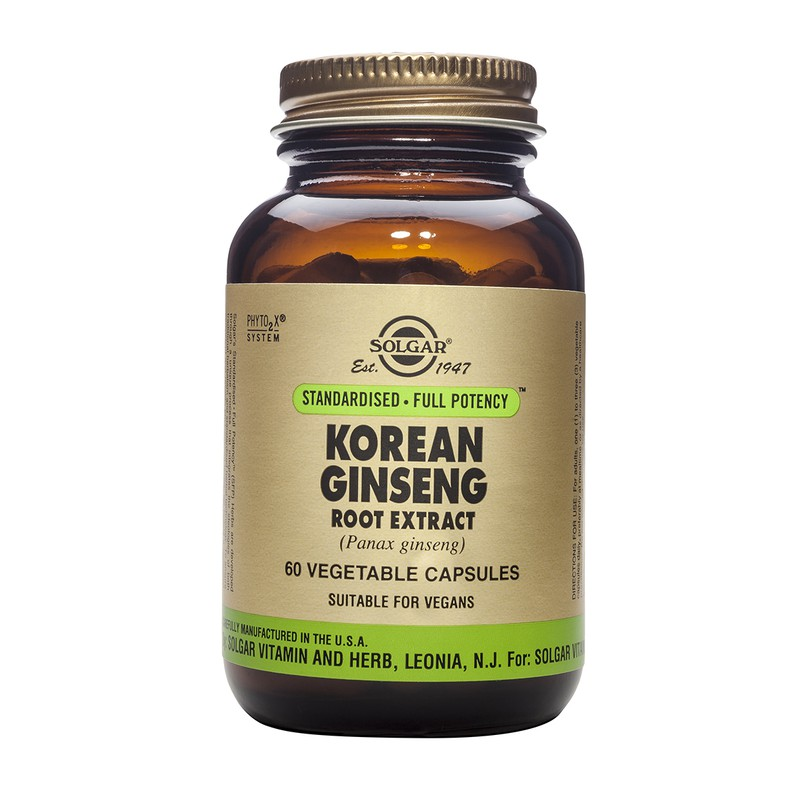 Korean Ginseng Root Extract veg. caps
