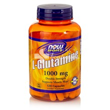 Now Sports L-GLUTAMINE 1000mg, 120caps