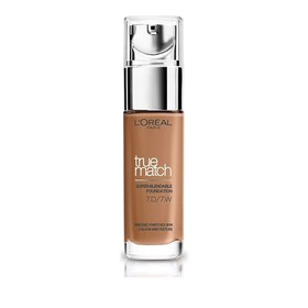 L'OREAL TRUE MATCH SUPER BLENDABLE FOUNDATION  7D/7W GOLDEN AMBER SPF17 30ml