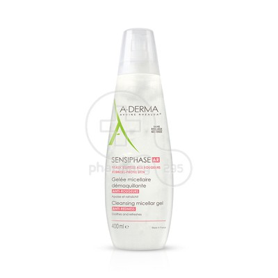 A-DERMA - SENSIPHASE AR Gelee Micellaire Anti-Rougeurs - 200ml