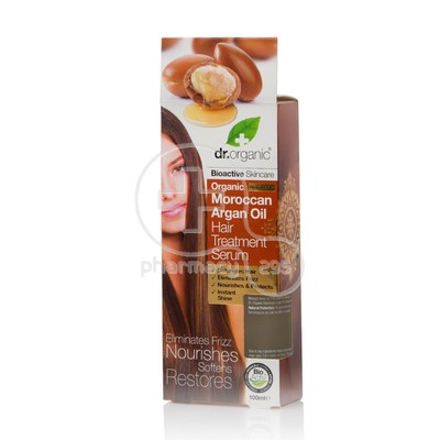 DR. ORGANIC - MOROCCAN ARGAN OIL Hair Treatment Serum - 100ml