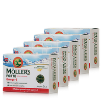 MOLLER'S - PROMO PACK 5 TEMAXIA Moller's Forte Omega 3 - 150caps
