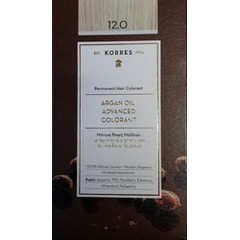 Korres Argan Oil Advanced Colorant 12.0 Ξανθό Special Blonde