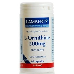 Lamberts L-Ornithine 500mg 60 κάψουλες