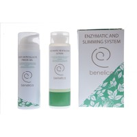 BENELICA ENZYMATIC & SLIMMING SYSTEM LOTION 200ML & BODY GEL 150ML