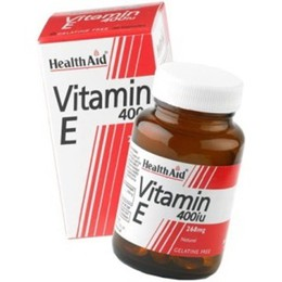 Health Aid VITAMIN E 400 i.u (268mg), 30 κάψουλες
