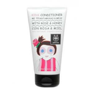 Apivita kids conditioner with rose   honey 150ml