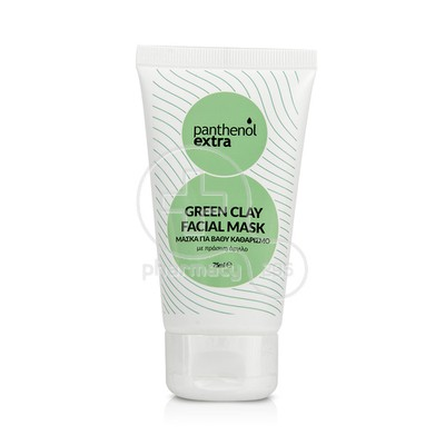 PANTHENOL EXTRA - Green Clay Facial Mask - 75ml