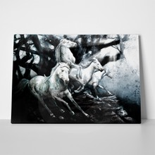 Running horses painting 123376690 a