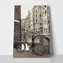 Bike on bridge amsterdam 301072070 a