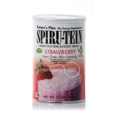 NATURE'S PLUS - SPIRU TEIN Strawberry - 544gr