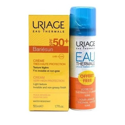Uriage - Promo Bariesun SPF50+ 40ml & ΔΩΡΟ Eua Thermale Thermal Water - 50ml