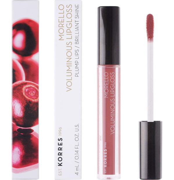 KORRES MAQ. MORELLO LIPGLOSS 23 NATURAL PURPLE 4ML
