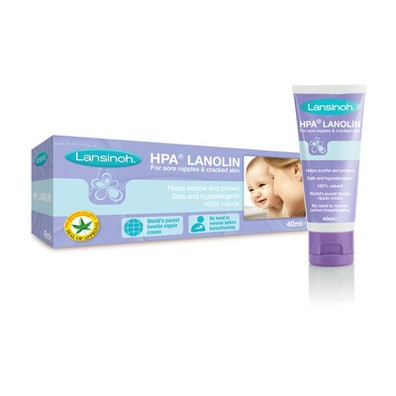 Lanolin hpa cream for nipples 40ml
