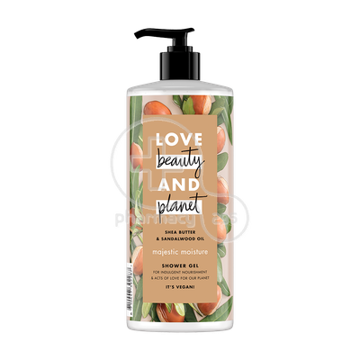 LOVE BEAUTY AND PLANET - Αφρόλουτρο Shea Butter And Sandalwood Oil - 500ml