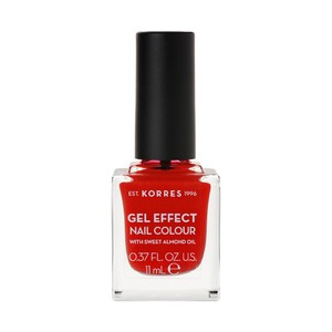 KORRES Gel effect nail colour N48 coral red 11ml