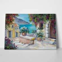 Greek summer painting 1 a