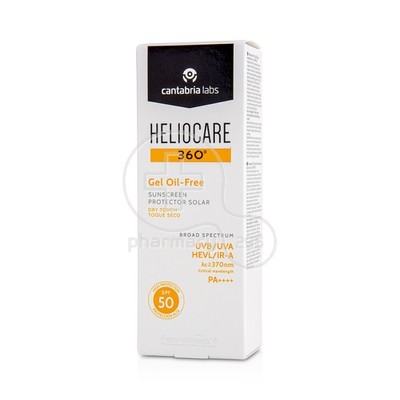 HELIOCARE - 360 Gel Oil-Free SPF50 - 50ml