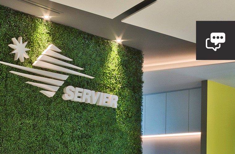 Servier new offices!