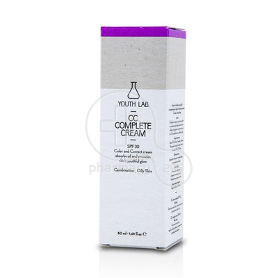 YOUTH LAB - CC Complete Cream SPF30 - 50ml Combination-Oily Skin