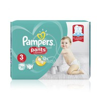 PAMPERS - Pants No3 (6-11kg) - 32 πάνες