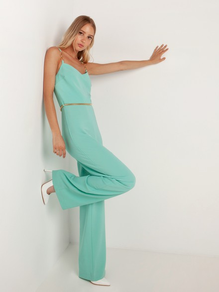 Jumpsuit with ring