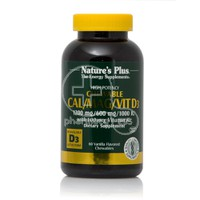NATURE'S PLUS - Cal 1200mg/Mag 600mg/VitD3 1000iu with Vitamin K2 - 60chew.tabs (vanilla)