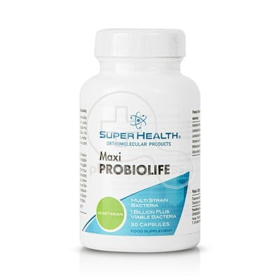 SUPER HEALTH - Maxi Probiolife - 30caps