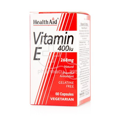 HEALTH AID -  Vitamin E 400iu - 60caps