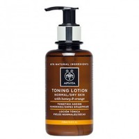 APIVITA TONING LOTION NORMAL&DRY SKIN (ORANGE&HONEY) 200ML