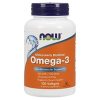 NOW OMEGA-3 (180 EPA/120DHA) 100SOFTGELS