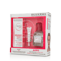 BIODERMA - PROMO PACK SENSIBIO Rich Cream Apaisante (40ml) ΜΕ ΔΩΡΟ H2O Solution Micellaire (100ml) & Gel Contour des Yeux (2ml)