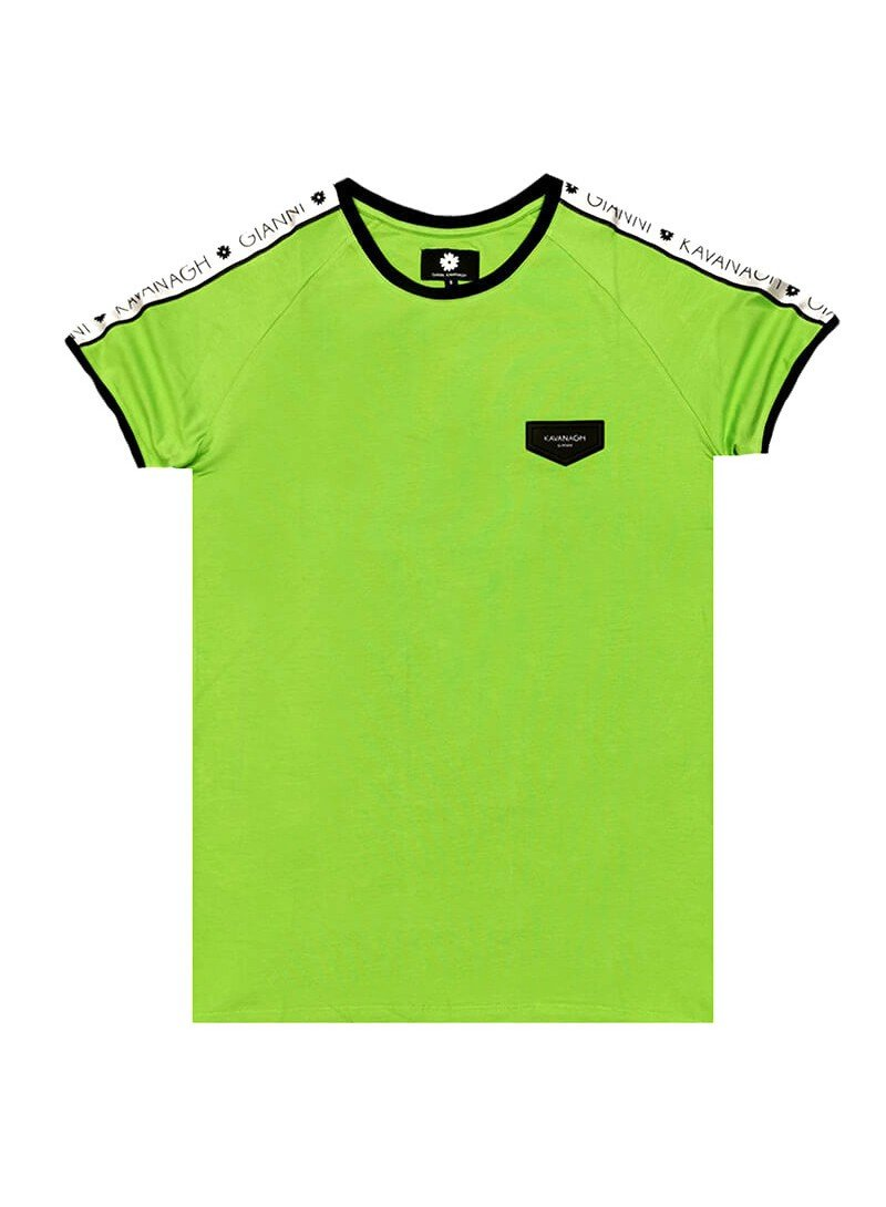 Gianni Kavanagh Green Tee With GK Silky Ribbon