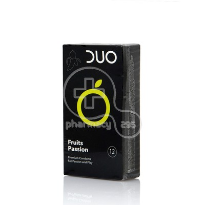 DUO - Προφυλακτικά Fruits Passion - 12pcs