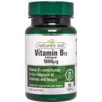 NATURES AID VITAMIN B12 1000MCG (SUBLINGUAL) 90TABS