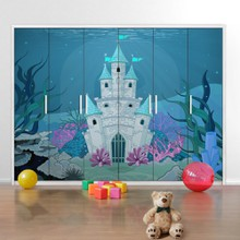 Underwater castle a
