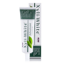 Now Xyliwhite Toothpaste Gel Refreshmint, 181 ml
