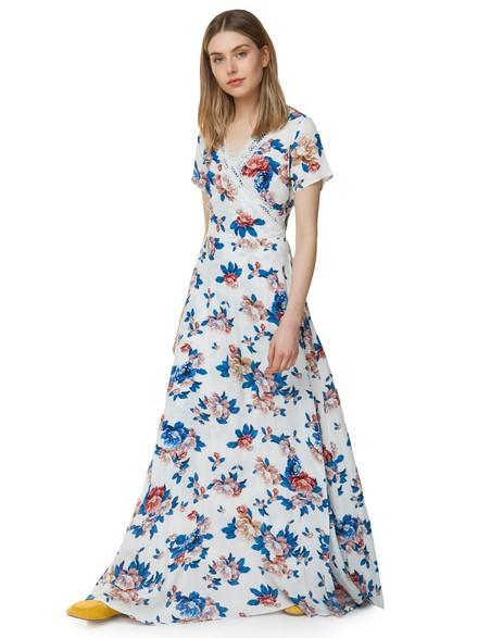 7849ba22056 Maxi floral φόρεμα