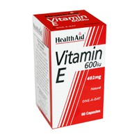 HEALTH AID VITAMIN E 600IU 60CAPS